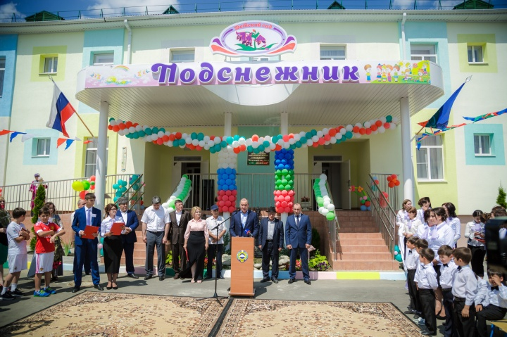 фото сельских детских садов